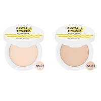 Компактная пудра для лица - Holika Holika Holi Pop Blur Pact SPF30/PA+++ #1 Светлый Беж
