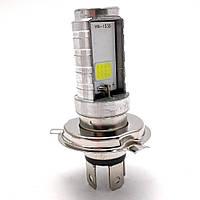"""Лампа фары LED H4 12w/12w (3ус) """"двойная"""""""