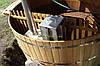 Японская баня офуро для 5-6ти человек из дуба. Размер 200*120
