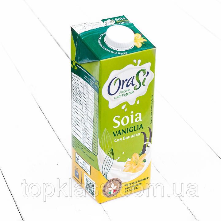 Соєве молоко зі смаком ванілі 1л, Orasi, Італія
