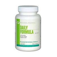 Витамины и минералы Universal Nutrition Daily Formula 100 tabs