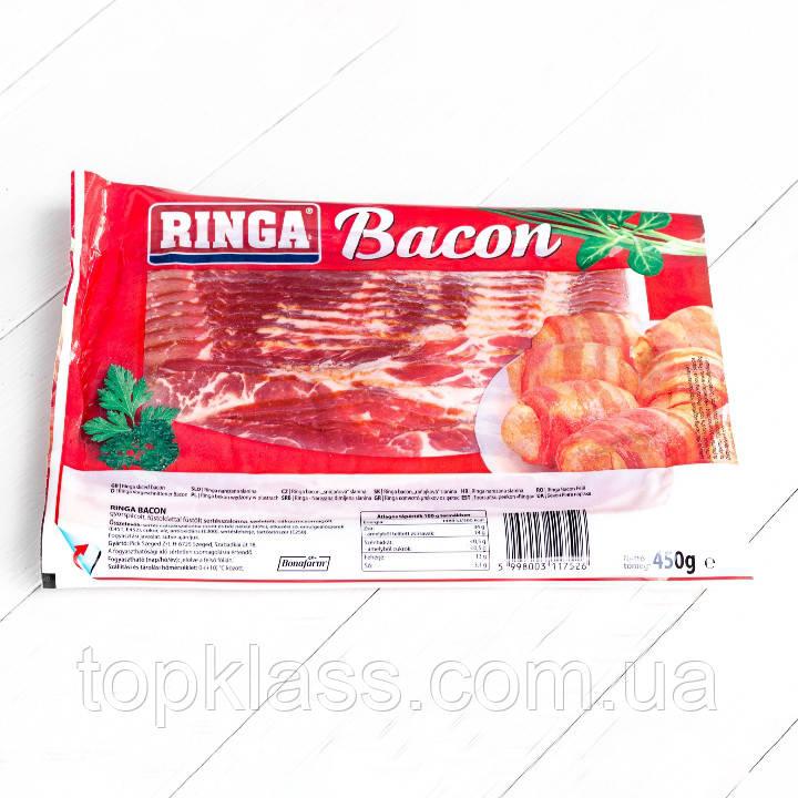 Бекон з/до нарізка Ringa (Рингу) 450г, Угорщина
