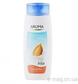 Шампунь Aroma Fresh Shampoo Almond Milk 400 мл