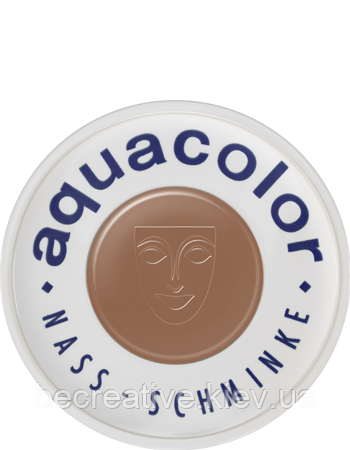 Коричневый  аквагрим AQUACOLOR 30мл(оттенок RB 3)