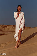Длинная пляжная туника