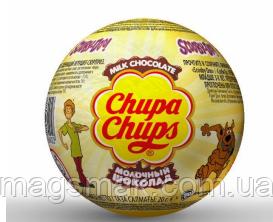 Шоколадный шар яйцо c сюрпризом Chupa Chups Choco ballls Скуби Ду