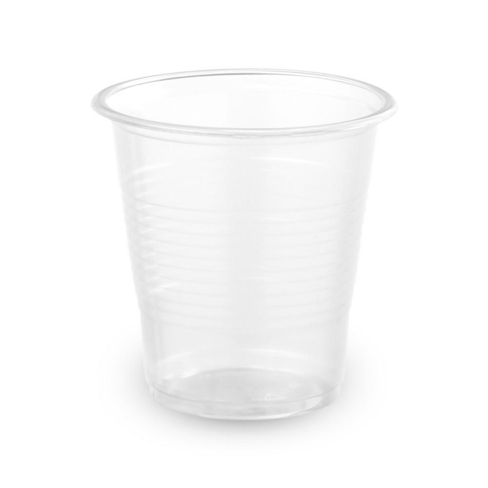 Пластиковий Стакан 80мл 100шт. 1/25