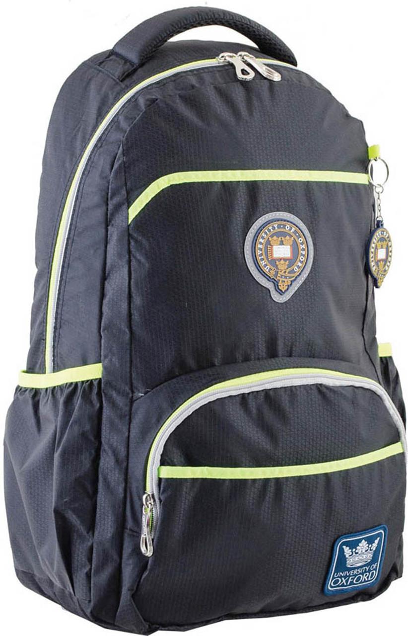 Рюкзак подростковый OX 313, черный, 31*47*14.5