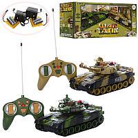 Игровой набор Танковый бой 9993-2PC на р/у