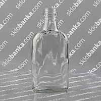 Бутылка стеклянная 0,2 литра фляга 36 шт