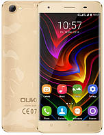 "OUKITEL C5 Pro Gold 2/16 Gb, 5"", MT6737, 3G, 4G, фото 1"