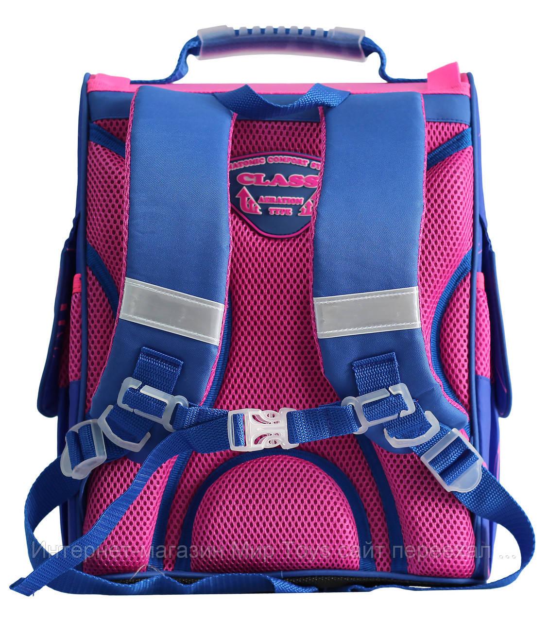 64f3b5b332e8 Ранец рюкзак школьный каркасный для девочки Fairy Flower CLASS арт. 9806,  цена 621,19 грн., купить в Киеве — Prom.ua (ID#716033397)