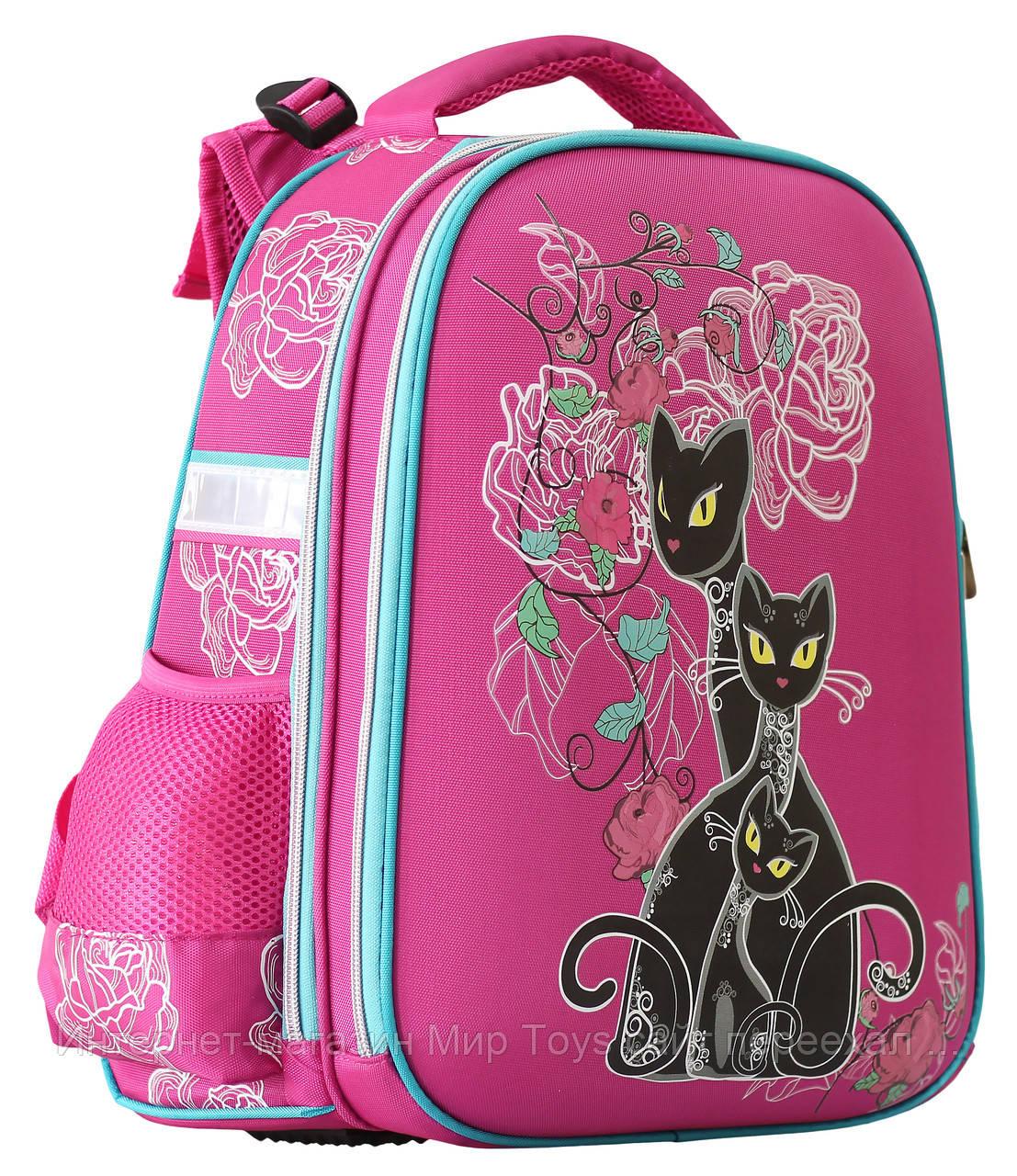 073972ba561f Ранец Рюкзак Школьный Ортопедический Cats CLASS, Арт.9815 — в ...