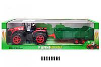 Трактор Фермер инерционный с прицепом 0488-244