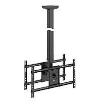 """NB T6030 - Профессиональный потолочный кронштейн на два ЖК-телевизора 32 """"- 60"""" (1,65м - 3м)"""