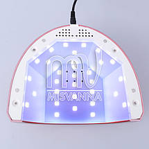 УФ лампа SUNone 2-в-1 UV+LED на 48 Вт для сушки геля и гель-лака (red), фото 2