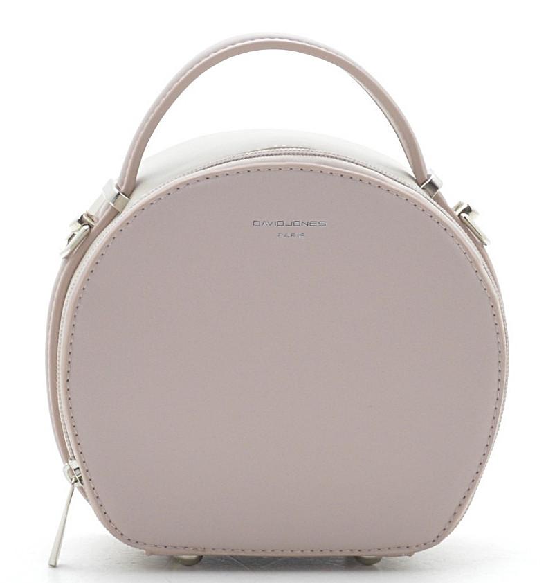 6872d1fdcaea Круглый женский клатч David Jones 5705-1A pink d. beige Женские клатчи сумки  через плечо, женские клатчи