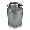 Бидон алюминиевый для молока объемом 25 л Калитва