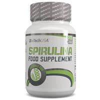 Спирулина Biotech spirulina food supplement 100 капсул