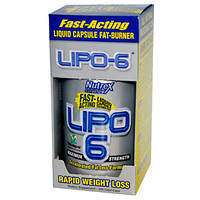 "Жиросжигатель Fast-acting liquid capsule fat-burner ""Lipo-6"""