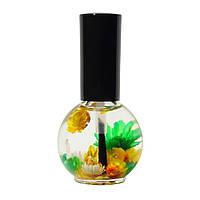 """Масло для кутикулы цветочное Naomi """"Лимон"""", 15 мл"""