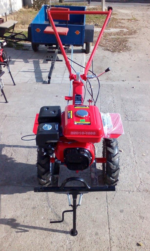 Бензиновый мотоблок Forte HSD1G-105G (колеса 4.00-8)
