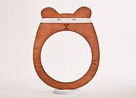 Фоторамка ручной работы слон медведь коричневый, фото 1