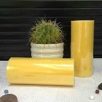 Лента фатиновая премиум 15 см желтая