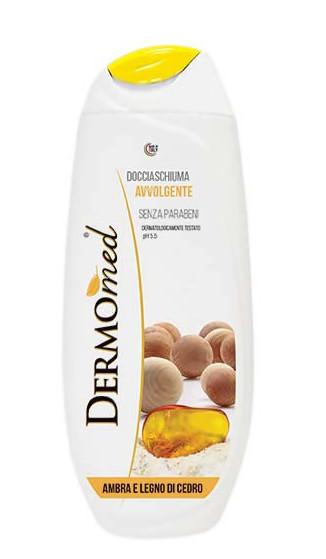 Зволожуючий гель для душу Dermomed Amber and cedarwood 750 ml.