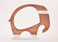 Фоторамка ручной работы Слон коричневый, фото 1