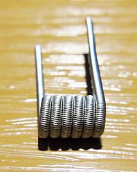 Проволока Fused Clapton Coil 1 метр 0.4мм, 0.1мм, Нихром Х20Н80, Кантал А1