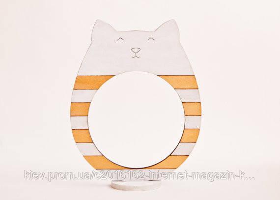 Фоторамки ручной работы кот золотой
