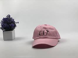 Кепка бейсболка LIT (розовая)