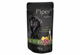 Консервы для собак DN Piper пауч с дичью и тыквой 150 г