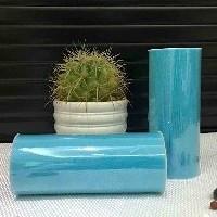 Лента фатиновая премиум 15 см голубая