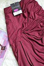 Новая юбка миди цвета бургунди Topshop, фото 3