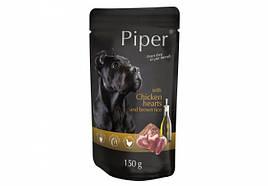 Консервы для собак DN Piper пауч с куриным сердцем и коричневым рисом 150 гр
