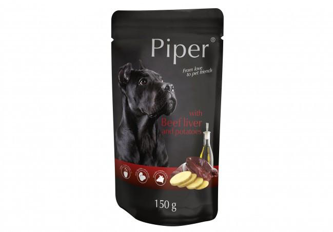 Консерви DN Piper 150 г з яловичою печінкою і картоплею для собак
