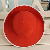 Шляпа красная женская (Лето 2018), фото 3