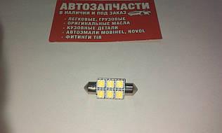 Лампа салона 36 мм 24V 6 диодов