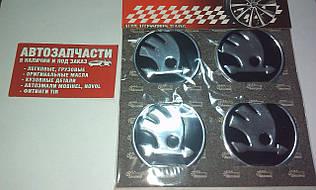 Наклейка на колесный диск Skoda