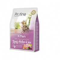 Profine Kitten Chicken and Rice натуральное куриное мясо и рис для котят  2кг