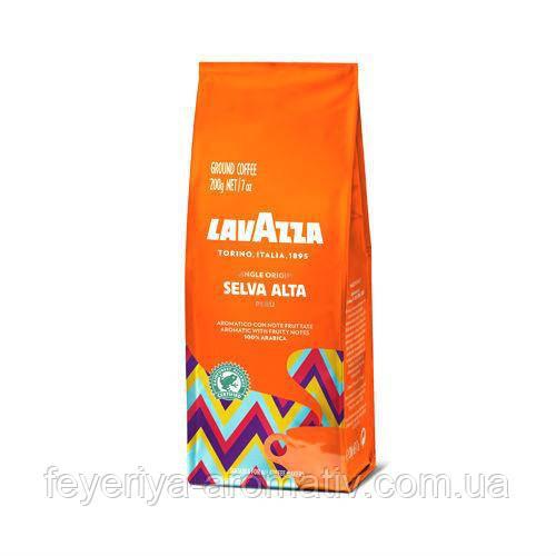 Кофе молотый Lavazza Selva Alta Peru 200гр. (Италия)