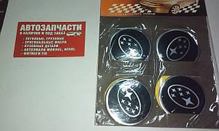 Наклейка на колесный диск Subaru