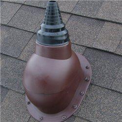 PAPI - вихід антени для покрівлі з бітумної черепиці