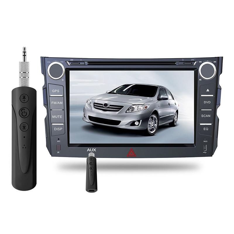 Аудио-ресивер Toto 4.1 Bluetooth AUX 3.5 mm для наушников/колонок/авто (гарнитура) Black