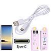 Кабель USB Hoco X1 Rapid Charging Cable Type-C 1M White, фото 3