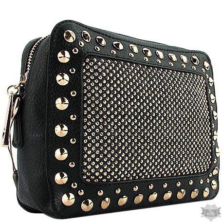 7ce43c32bf93 Женская черная сумка Batty 56310 - Интернет-магазин одежды, обуви и  аксессуаров в Киеве