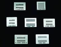 Шаблоны для реболла память DRR DDR2 DDR3 7 шт