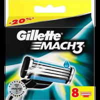 Сменные кассеты для бритья Gillette Mach3 8 кассет (Индия)